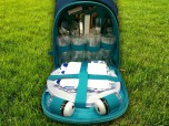 Набор для пикника на 4 персоны в рюкзаке #1