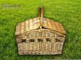 Набор для пикника на 4 персоны «Плетёная корзина C019»